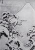 Лист из серии 100 видов горы Фудзи